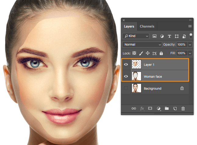 How to Swap Faces Using Blend Technique in Photoshop CC